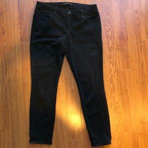 Joe's Vixen Flawless Ankle Black Jeans sz 31